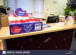 Restaurant Reception Desk by Charity Sweets On An Office Reception Desk February 2016 Stock