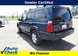 used certified 2006 jeep commander pagosa springs co harbison