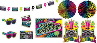 80s Theme Party Ideas Decorations Totally 80s Theme Party Supplies Party City