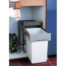 poubelle cuisine 20 litres poubelle coulissante 1 bac 20 litres robuste accessoires de cuisines