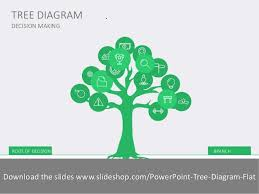 tree diagram flat