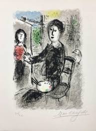 marc chagall fine art 301 for sale at 1stdibs