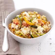 recette poêlée de légumes au quinoa cuisine madame figaro