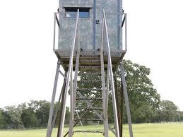 Metal Hunting Blinds 10x10 Tower Deer Hunting Blinds Atascosa Wildlife Supply Texas