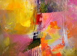 Opaque Couche Abstraite Multicolore Couche Uvre Textures De Peinture à L U0027huile