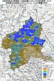Fukushima Radiation Map Fukushima Daiichi Radioactive Contamination Map