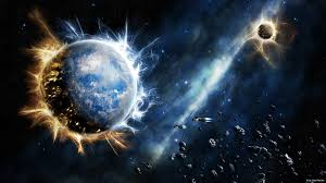 abstract planet wallpapers abstract space explosion on earth