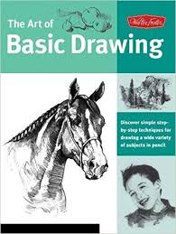 buy art of basic drawing discover simple step by step techniques