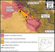 Islamic State Territory Map by Deir E Zor Civilians Fear U0027mass Executions U0027 As Islamic State