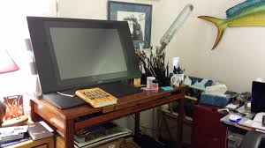 Studio Art Desk by New Florence New Renaissance Technology And My Passion Jim