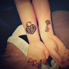 46 best matching couple tattoo you get after marriage picsmine