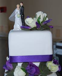 cadbury purple 3 tier wedding cake simple and elegant hours of fun
