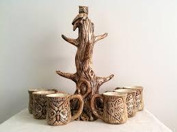 Tree Mug Mug Tree With Mugs Glass Dishes For Dairy