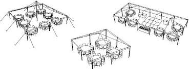 a party center tent calculator size guides