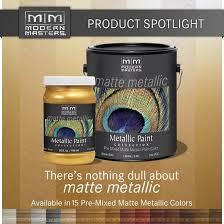 matte metallic paint colors modern masters cafe blog
