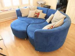 Teal Color Sofa by Smart Blue Microfiber Fabric Along With Blue Couch In Blue Sofa