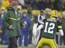 our favre rodgers photo gets hof honor