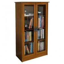 Bookshelf Glass Doors Oak Bookcases With Glass Doors Foter