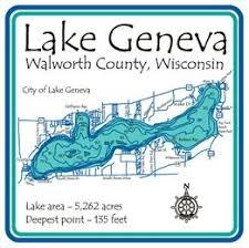 map of lake geneva wi amazon com lake geneva coffee cup lake gifts lake house