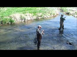 Wisconsin Trout Streams Map by Trout Fishing The Blue River Youtube