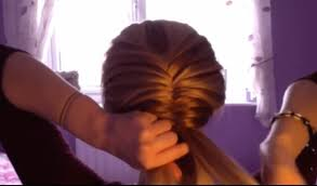 how to do a fishtail braid on yourself youtube