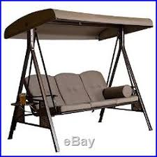 Free Standing Canopy Patio 3 Seat Covered Patio Swing Canopy Free Standing Steel Patio Garden