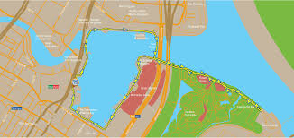 Map Of Unf Armour Thebay Charged Run Tickets Sun Sep 25 2016 At 6 30 Am