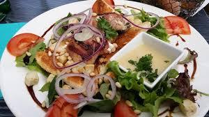 cuisiner le gardon salade repas photo de les terrasses du gardon anduze tripadvisor