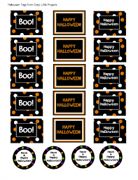 Happy Halloween Printable by Halloween Treat Buckets U0026 Printable Halloween Gift Tags