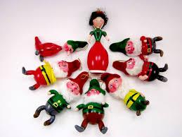 vintage de carlini snow white and the seven dwarfs set italian