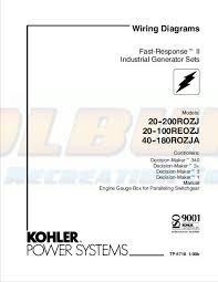 kohler product literature tp 5718 kohler generators online