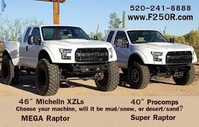 Ford Truck Mud Tiress - the super mega raptor is a custom super duty build of ford u0027s