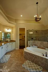 Master Bathroom Floor Plans With Walk In Shower by Regency Homebuilders Master Bath Drop In Tub Walk Through