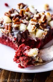red velvet seven layer bars sallys baking addiction