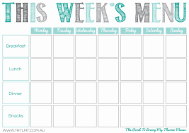printable meal planner template printables the road to loving my thermo mixer this week s menu 2 fb