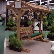 swing yard frame with roof 2 sizes