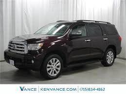 suv toyota sequoia 2012 toyota sequoia limited eau claire wi 20113603