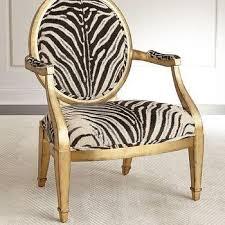 gold leaf base zebra chair products bookmarks design