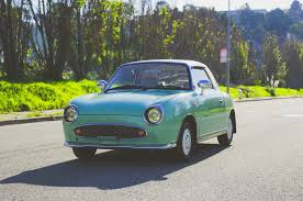 nissan california set up just listed 1991 nissan figaro is adorable in all the right ways