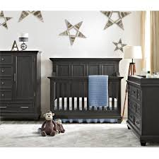 bertini nashville knox 4 in 1 convertible crib weathered