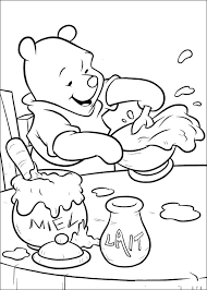winnie pooh colotring pages