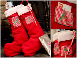 9 handmade christmas stocking ideas parentmap photo credit little button diaries