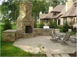 Creative Backyard Backyards Trendy Backyard Brick Fireplace Backyard Furniture
