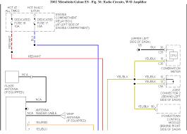 2001 mitsubishi eclipse wiring diagram mitsubishi wiring