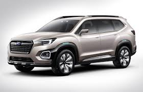 subaru america subaru ascent concept previews 7 seater for north america