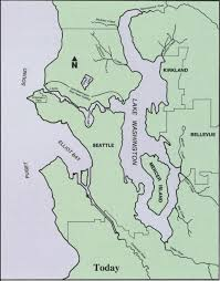 Washington Map by Lake Washington Lake Annecy Story