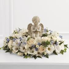 flowers for funeral service the angel ring of flowers funeral flowers ital florist