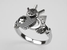 steunk engagement ring steampunk claddazh engagement ring original 3d model 3d