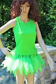Green Tutu Halloween Costume Tinker Bell