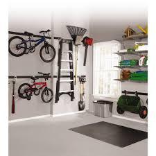 Rubbermaid Garage Organization System - fasttrack garage 1 bike horizontal bike hook bike hooks floor